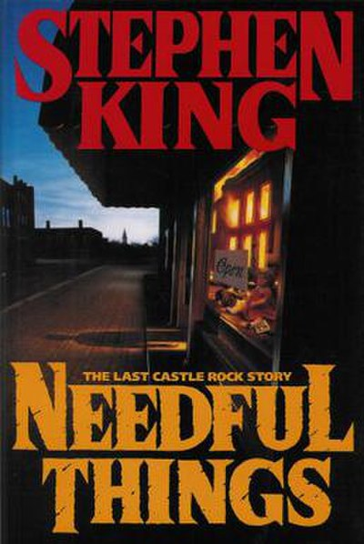 Picture of a book: Needful Things