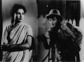 <i>Neel Akasher Neechey</i> 1959 film by Mrinal Sen