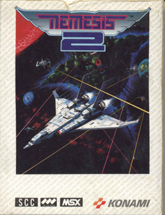 Nemesis 2 (MSX) - European cover art
