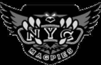 New York Magpies - Image: New York Magpies logo