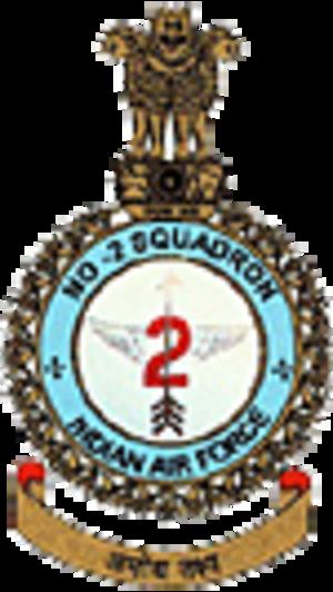 No. 2 Squadron IAF - Image: No 2sqd