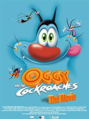 Oggy and the Cockroaches: The Movie - Theatrical release poster