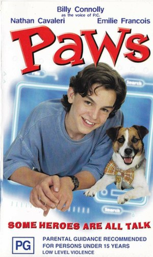 Paws (film) - Theatrical release poster
