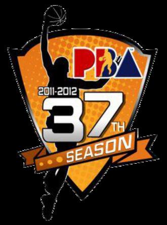 2011–12 PBA season - Image: Pba 2011 12 logo