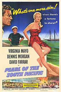 <i>Pearl of the South Pacific</i> 1955 film by Allan Dwan