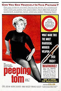 <i>Peeping Tom</i> (1960 film) 1960 film by Michael Powell