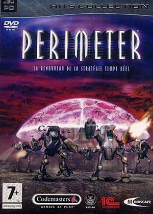 Perimeter (video game) - Image: Perimeter cover art