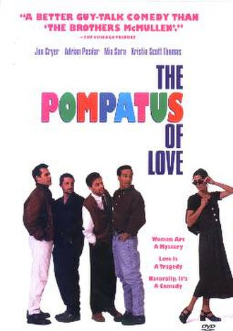 The Pompatus of Love - DVD cover