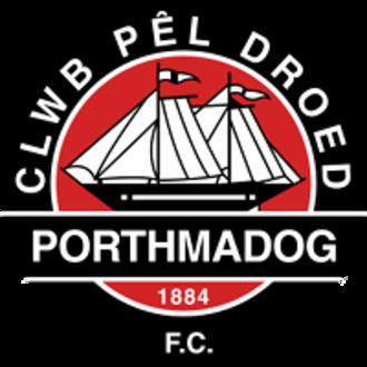 Porthmadog F.C. - Image: Porthmadog FC badge