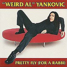 Pretty Fly for a Rabbi (Weird Al Yankovic single - cover art).jpg