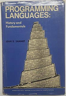 <i>Programming Languages: History and Fundamentals</i> Early book on computer programming languages (1969)