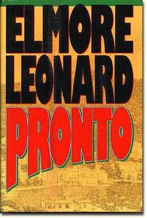 Pronto (novel) - First edition