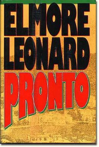 Pronto (novel) - First edition