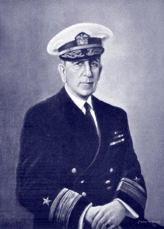 Yates Stirling Jr. - RADM Yates Stirling Jr. from a portrait by Mabel Buell