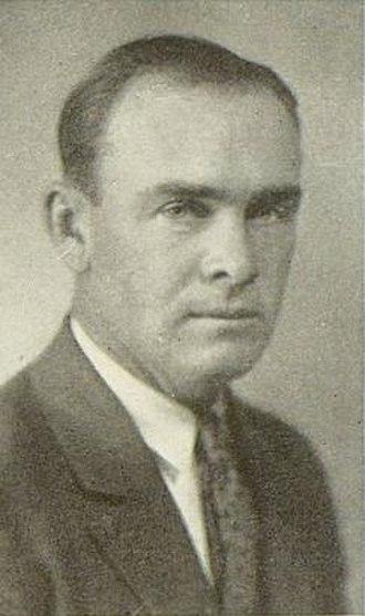 Grady Higginbotham - Higginbotham pictured in La Ventana 1927, Texas Tech yearbook