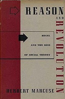 <i>Reason and Revolution</i> 1941 book by Herbert Marcuse