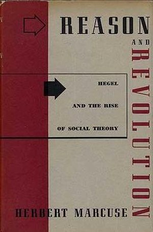 Reason and Revolution - Cover of the first edition