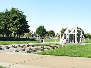 Marina Bay, Richmond, California - Rosie the Riveter monument in Marina Bay