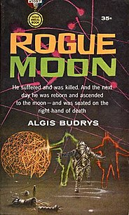 <i>Rogue Moon</i> book by Algis Budrys