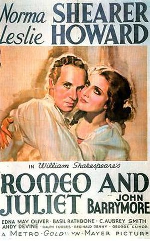 Romeo and Juliet (1936 film) - 1936 US Theatrical Poster