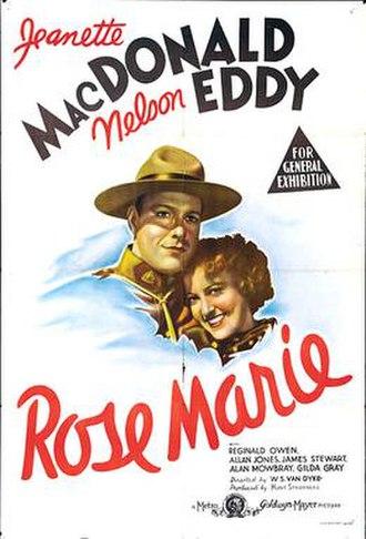 Rose Marie (1936 film) - Film poster