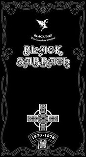 <i>Black Box: The Complete Original Black Sabbath (1970–1978)</i> compilation album
