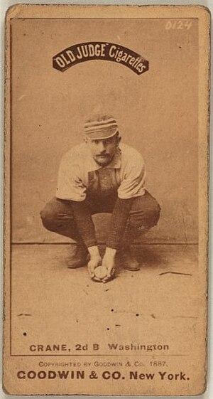 Sam Crane (second baseman) - Image: Samcrane
