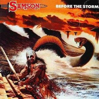 Before the Storm (Samson album) - Image: Samson Before The Storm