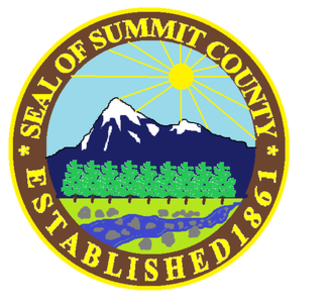 Summit County, Colorado - Image: Seal of Summit County, Colorado