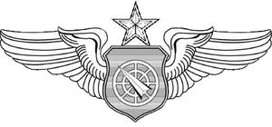 Lori Robinson - Image: Senior Air Battle Manager Badge