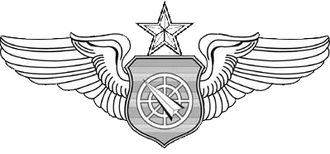 Lori Robinson - Image: Senior Air Battle Manager Badge