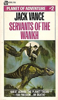 <i>Servants of the Wankh</i> novel by Jack Vance