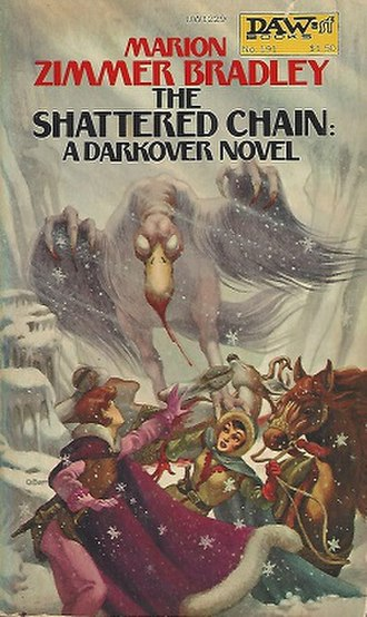 The Shattered Chain - Cover of the first edition