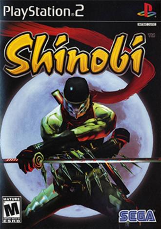 Shinobi (2002 video game) - Image: Shinobi (PS2) Coverart