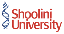 Shoolini University of Biotechnology and Management Sciences logo.png