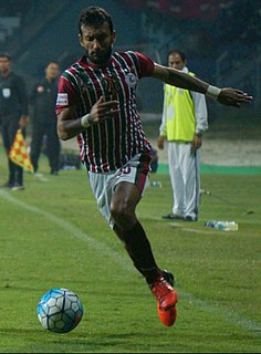 Shouvik Ghosh Indian footballer