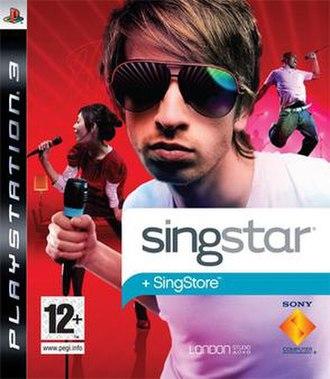 SingStar (PlayStation 3) - Image: Sing Star PS3