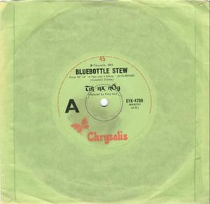 Bluebottle Stew - Image: Single Bluebottle Stew frontcover