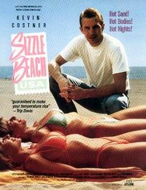 Sizzle Beach, U.S.A. - VHS cover