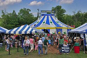 Circus Smrikus Tent