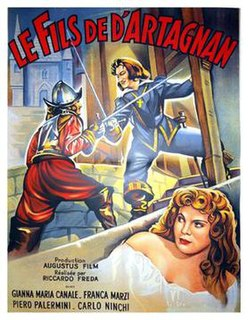 <i>Son of dArtagnan</i> 1950 film by Riccardo Freda