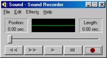 voice recorder windows 8.1