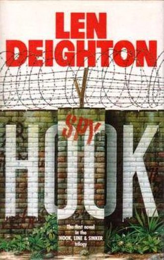 Spy Hook - First edition cover (UK, Hutchinson) Cover artist Hargrave Hands