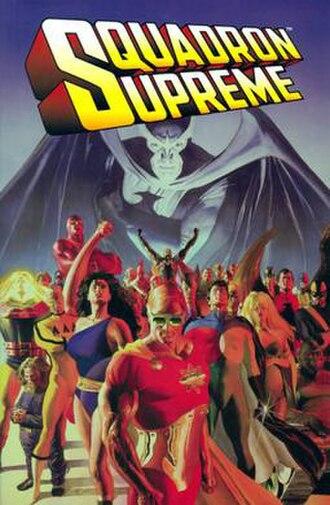 Squadron Supreme - Squadron Supreme 2005 trade paperback cover