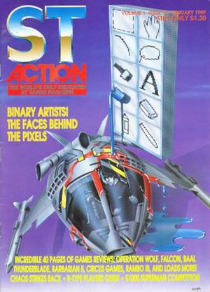 ST Action - Image: St action cover