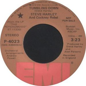 Tumbling Down (Cockney Rebel song) - Image: Steve Harley and Cockney Rebel Tumbling Down 1974 Single
