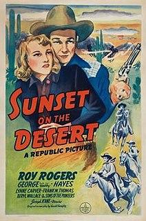 <i>Sunset on the Desert</i> 1942 film by Joseph Kane