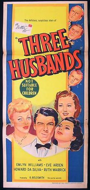 Three Husbands - Theatrical release poster