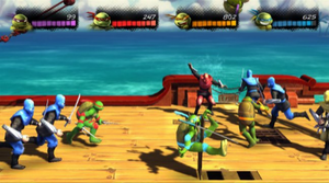 Teenage Mutant Ninja Turtles: Turtles in Time Re-Shelled - Turtles in Time Re-Shelled is an enhanced remake of the original Turtles in Time