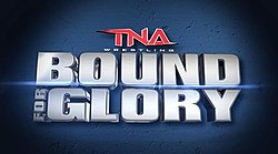 The TNA Bound for Glory 2015 logo.